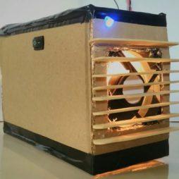 آموزش ساخت بخاری فن دار در خانه
