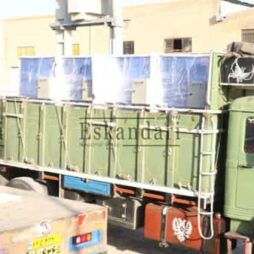 ارسال 7 عدد هیتر آرارات با مشعل گازی به مقصد کرمانشاه