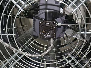 نوع فن و موتور دستگاه جت هیتر 110 هزار - هیتر اسکندری
