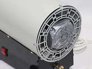 بررسی فن و الکتروموتور - هیتر اسکندری